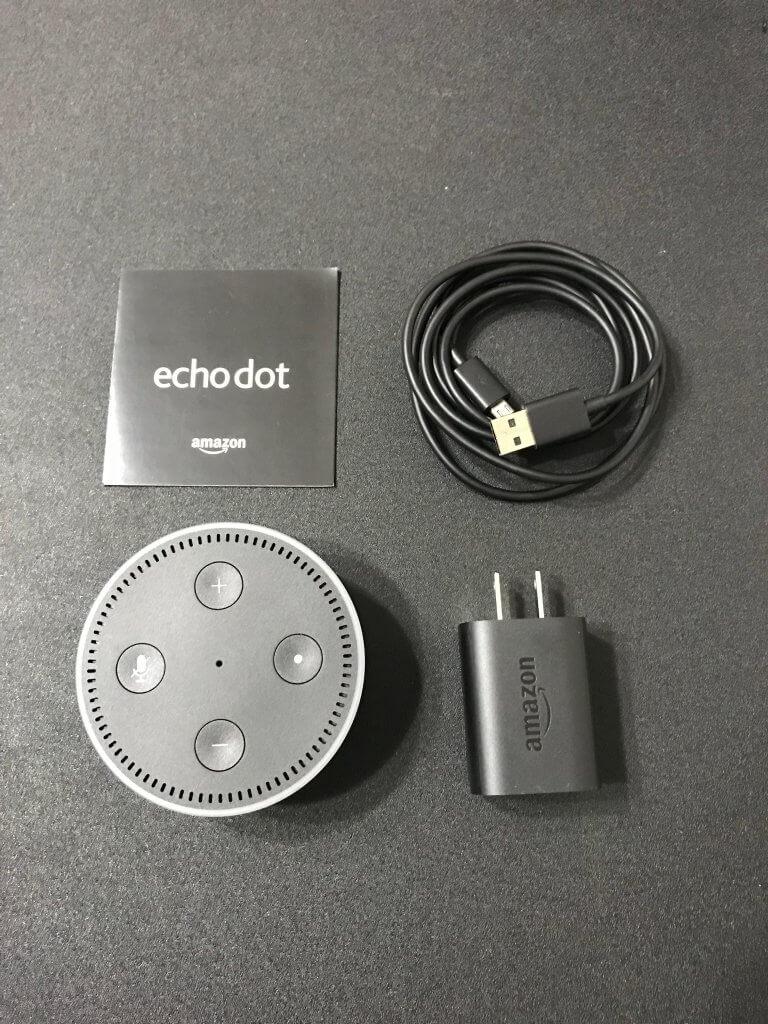 Amazon Echo Dot(アマゾンエコー ドット)のサイズ