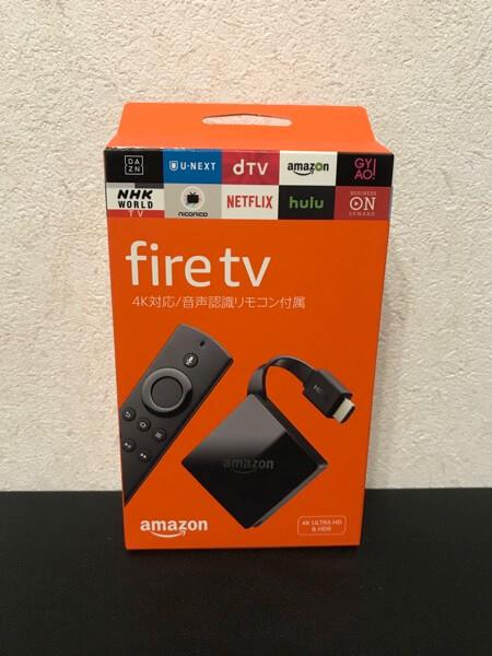Fire TV 4Kの商品写真