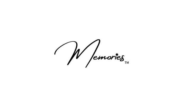 memoriesのロゴ